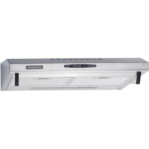 Imagem de Depurador de Parede Tramontina Compact em Aço Inox e Vidro Temperado 60 cm 220 V