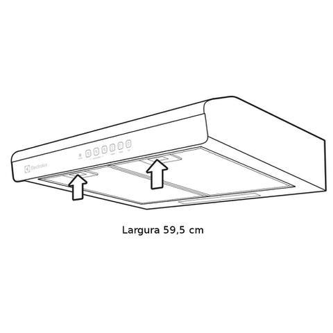Imagem de Depurador Electrolux 60cm Branco 127v DE60B