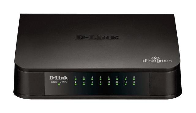 Imagem de DES 1016A Switch Fast Ethernet 16 portas