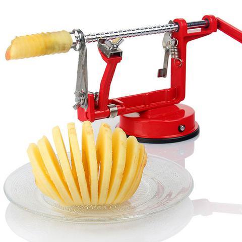 Imagem de Descascador e fatiador de maça pera batata