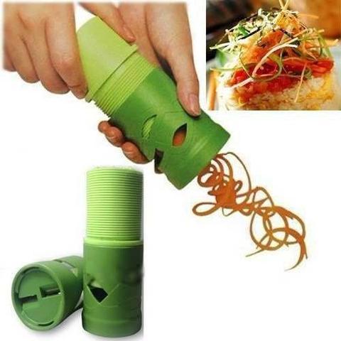 Imagem de Descascador Legumes Fatiador Cortador Espiral Verduras