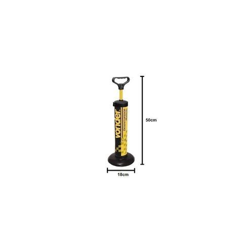 Imagem de Desentupidor Manual Para Vaso ou Pia por Sucção 180mm Multiuso Vonder