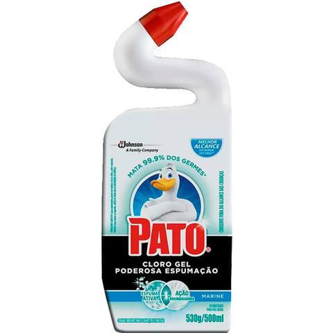Imagem de Desinfetante Sanitário Cloro Gel Pato Marine 500 ml