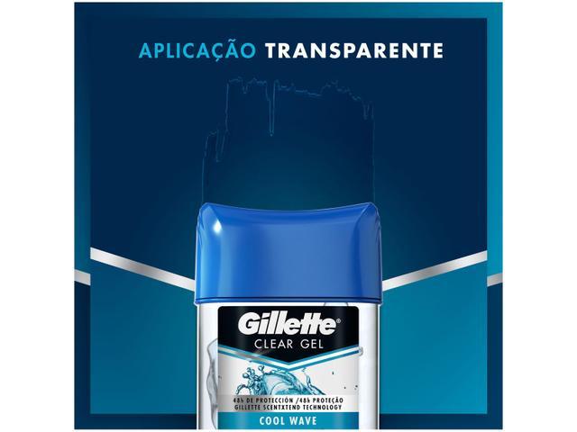 Imagem de Desodorante Gillette Endurance Cool Wave Gel