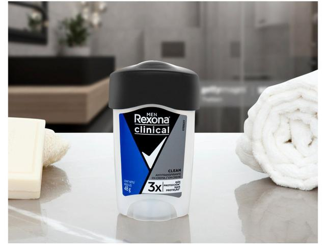 Imagem de Desodorante Rexona Clinical Clean Creme