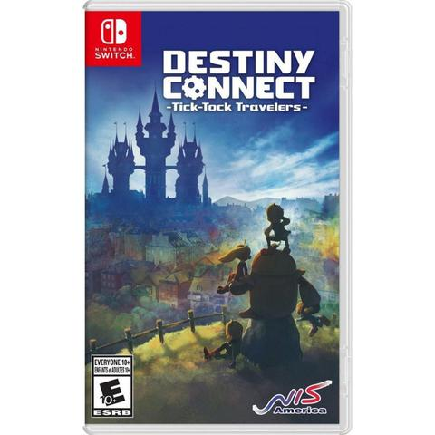 Jogo Destiny Connect: Tick-tock Travelers - Switch - Nis America