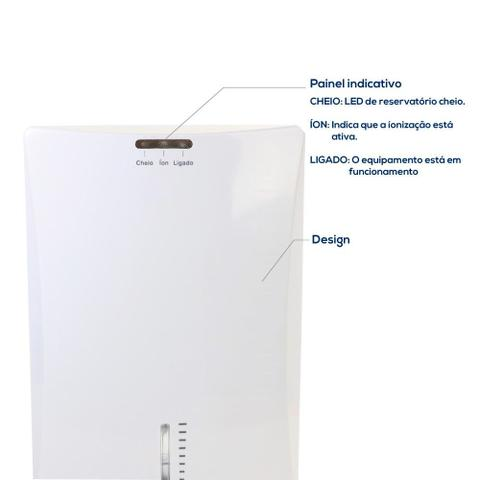 Imagem de Desumidificador de ar Desidrat Comp Íon 10m³ Thermomatic Biv