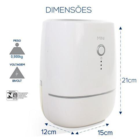 Imagem de Desumidificador De Ar Desidrat Mini 250ml/Dia Bivolt Thermomatic