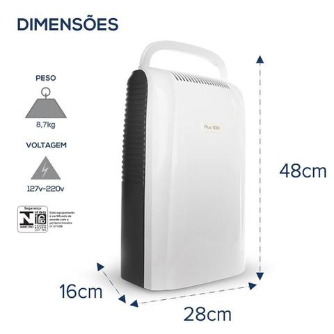 Imagem de Desumidificador de Ar Smart Desidrat Plus100 Thermomatic 220V
