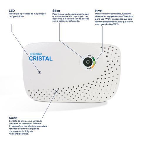 Imagem de Desumidificador Desidrat Cristal Thermomatic Bivolt Ideal Para Ambientes até 1m³