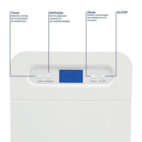 Imagem de Desumidificador Desidrat Exclusive 150 Thermomatic 127v Ideal Para Ambientes até 150m³