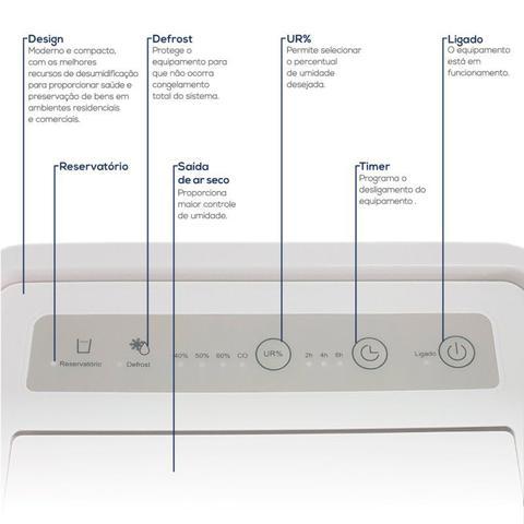 Imagem de Desumidificador Desidrat Plus 70 Thermomatic 127v Ideal Para Ambientes até 70m³