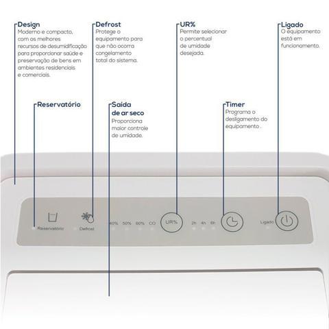 Imagem de Desumidificador Desidrat Plus 70 Thermomatic 220v Ideal Para Ambientes até 70m³