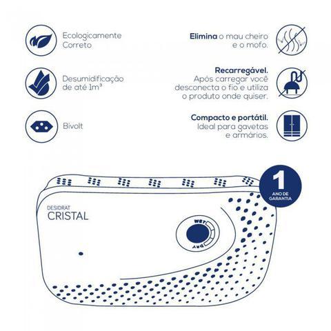 Imagem de Desumidificador Elétrico - Linha Compact - Desidrat Cristal - Bivolt