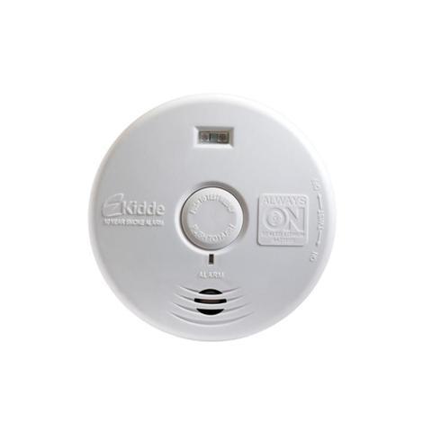 Imagem de Detector de Fumaça para Corredor E Escada Branco