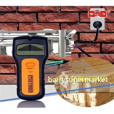 Detector de obstaculos digital eletronico fios, vigas metais e madeira  scanner 3 em 1 - Faça resolva
