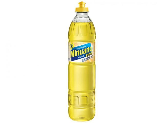 Imagem de Detergente Líquido Lava-Louças Minuano Neutro