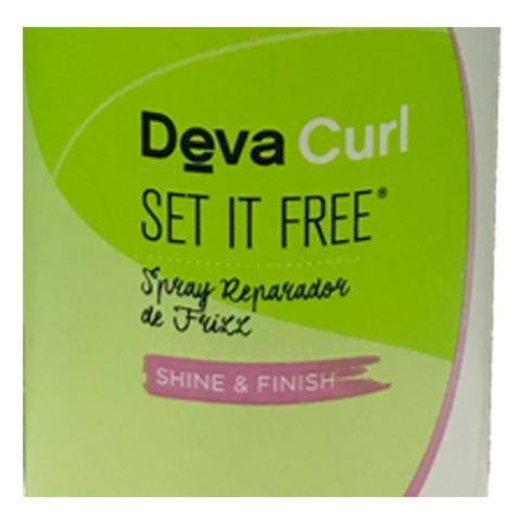Imagem de Deva Curl Set It Free Spray Anti-Frizz - Finalizador Antifrizz
