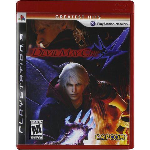 Jogo Devil May Cry Greatest Hits - Playstation 3 - Capcom