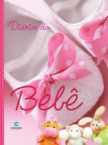 Imagem de Diário álbum do bebê para fotos e anotações - Rosa