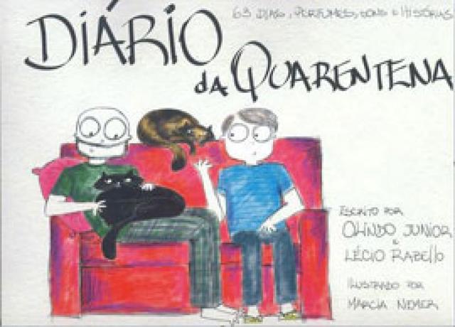 Imagem de Diário da quarentena - Olindo Caverzan Junior