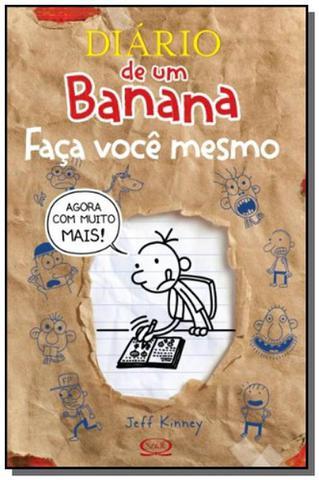 Imagem de Diario de um banana: faca voce mesmo