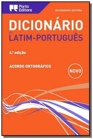 Imagem de DICIONARIO DE LATIM PORTUGUES  ACORDO ORTOGRAFICO  4a EDICAO