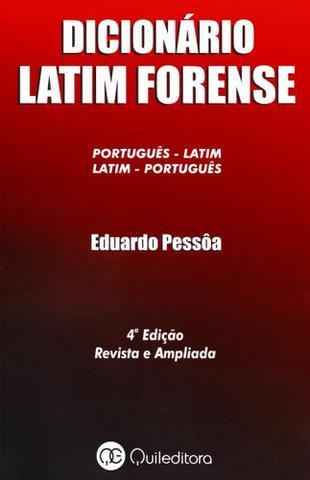 Imagem de Dicionário Latim Forense.Português-Latim / Latim-Português