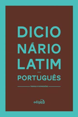 Imagem de Dicionario latim-portugues