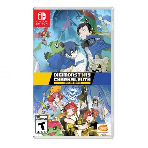 Jogo Digimon Story Cyber Sleuth Complete Edition - Switch - Bandai Namco Games