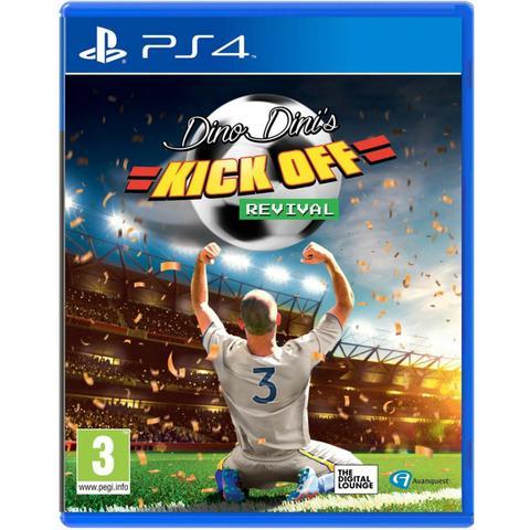 Jogo Dino Dini's Kick Off Revival - Playstation 4 - Koo Games Ltd