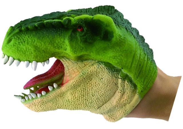 Imagem de Dino Fantoche DTC - Verde