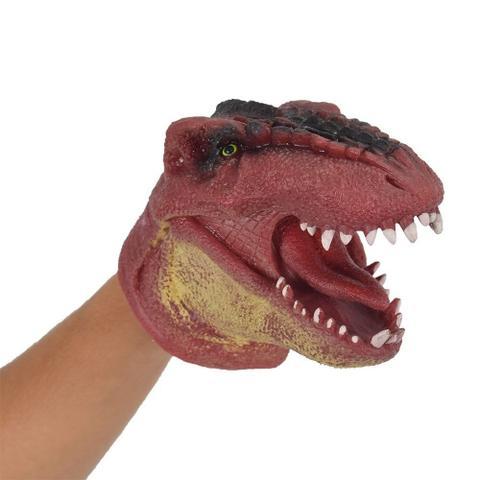 Imagem de Dino Fantoche Vermelho 15cm 3731 - Dtc
