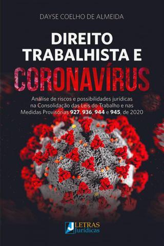 Imagem de Direito Trabalhista E Coronavírus - Letras Jurídicas