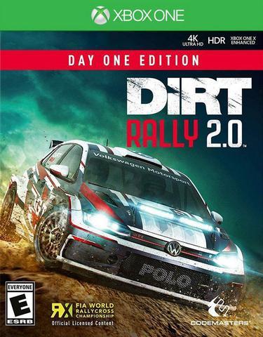 Jogo Dirt Rally 2.0 - Xbox One - Codemasters
