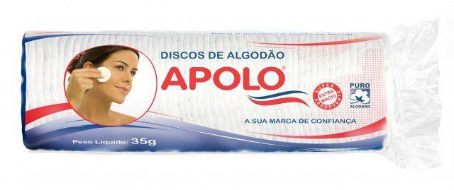 Imagem de Discos de Algodão 35g - Apolo