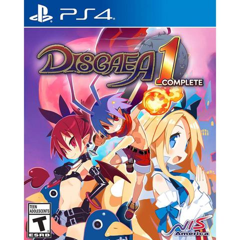 Jogo Disgaea 1 Complete - Playstation 4 - Nis America