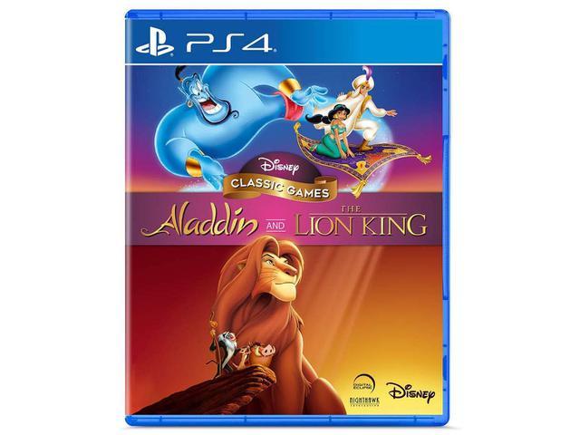 Jogo Aladdin And The Lion King - Playstation 4 - Disney Interactive