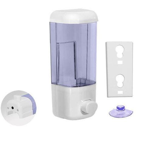 Imagem de Dispenser De Parede Para Alcool Gel Detergente e sabonete liquido 580ml
