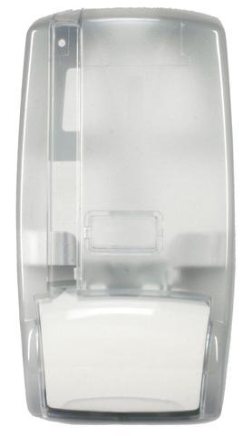 Imagem de Dispenser para sabão líquido/ alcool gel translúcido cristal s442 (c/ res)