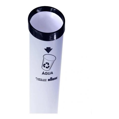 Imagem de Dispenser Porta Copo De Água E Café Descartável E Lixeira