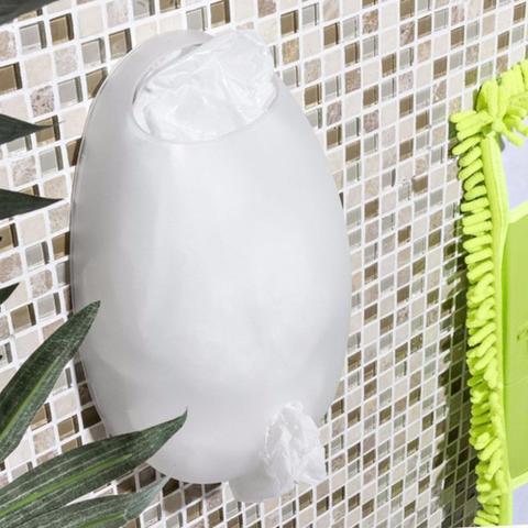 Imagem de Dispenser Porta Sacolas Plásticas Puxa Saco de Parede - Cores
