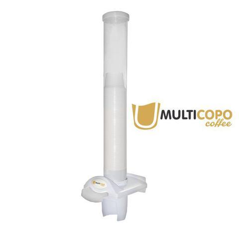 Imagem de Dispenser Poupa Copos Multicopo Café 50ml Branco