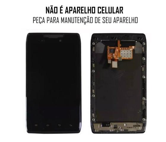 Imagem de Display Frontal Moto Razr Max Hd XT910 Preto Aro 1 Linha AAA