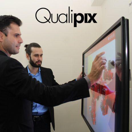 Imagem de Display interativo qualipix 65 pol.
