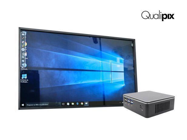 Imagem de Display interativo qualipix c/ gerenciador 75 pol.