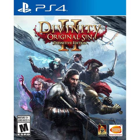 Jogo Divinity Original Sin Ii - Definitive Edition - Playstation 4 - Focus Home Interactive