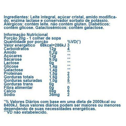 Imagem de Doce de Leite Zero Lactose 350g