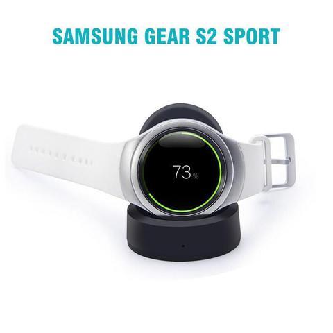 Imagem de Dock Carregador compatível com Samsung Galaxy Watch 46mm 42mm - Galaxy Watch 3 45mm 41mm - Gear S3 Frontier - Gear S3 Classic