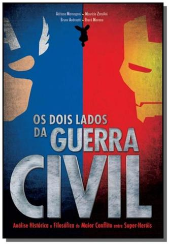 Imagem de Dois lados da guerra civil, os - criativo